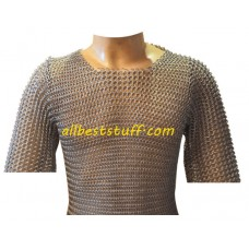 Butted Chain Mail Shirt Small Kids Chainmail Original Oil Finish