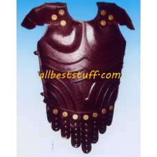 Medieval Breastplate Leather Armor Brown