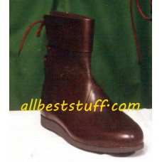 Medieval Leather Boots High Quality Boots for Men Medieval Leather Shoes